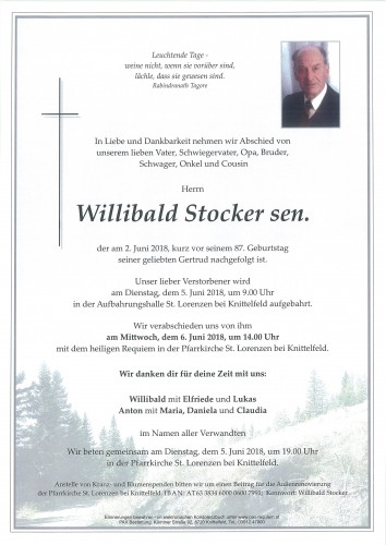 Willibald Stocker sen.