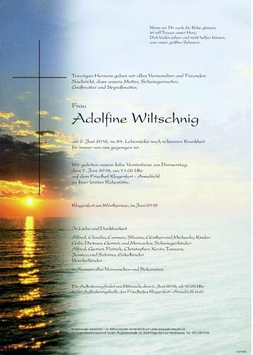 Adolfine Wiltschnig