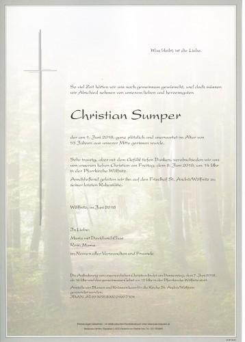 Christian Sumper