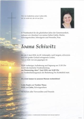 Ioana Schiwitz