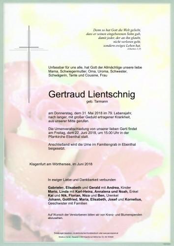 Gertraud Lientschnig