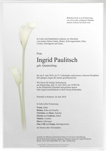 Ingrid Paulitsch