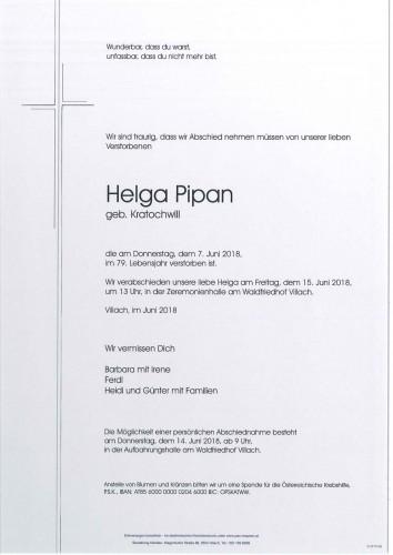 Helga Pipan