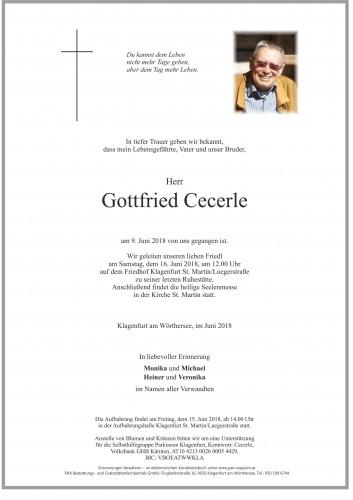 Gottfried Cecerle