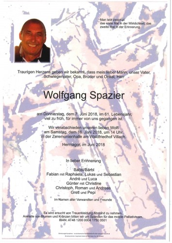 Wolfgang Spazier