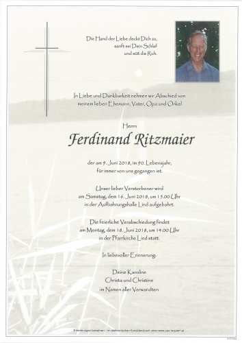 Ferdinand Ritzmaier