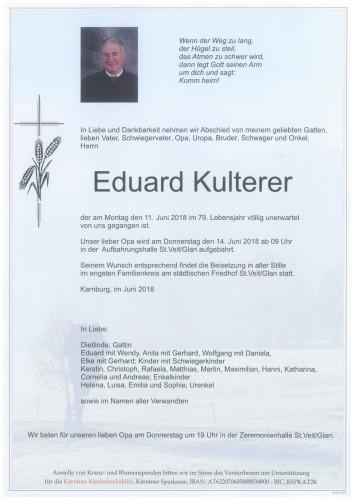Eduard Kulterer