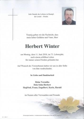 Herbert Winter