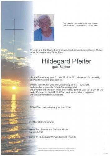 Hildegard Pfeifer  geb. Sucher