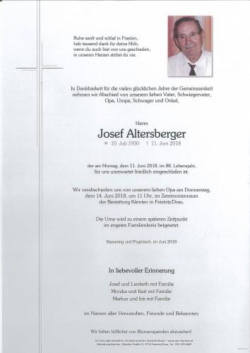 Josef Altersberger