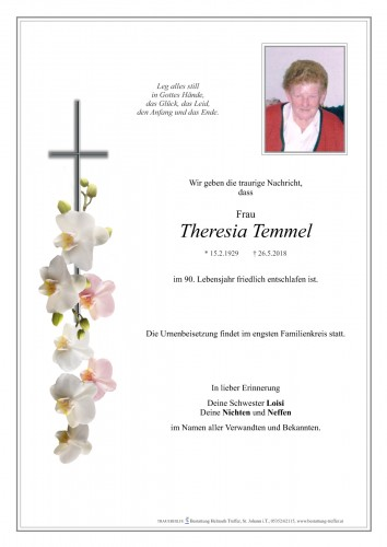 Theresia Temmel