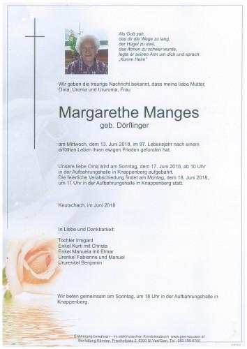 Margarethe Manges