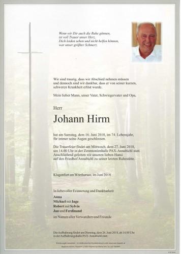 Johann Hirm