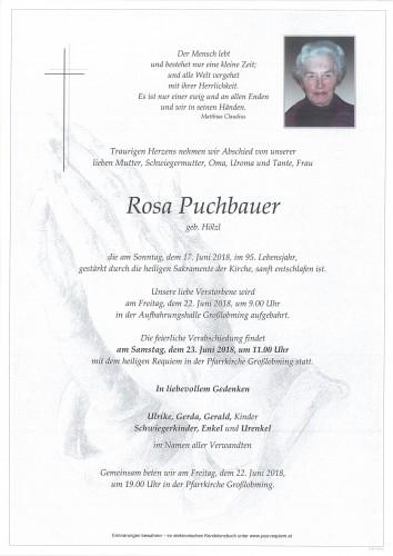 Rosa Puchbauer