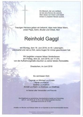 Reinhold Gaggl
