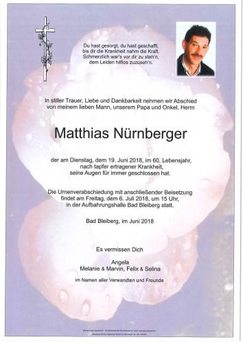 Matthias Nürnberger