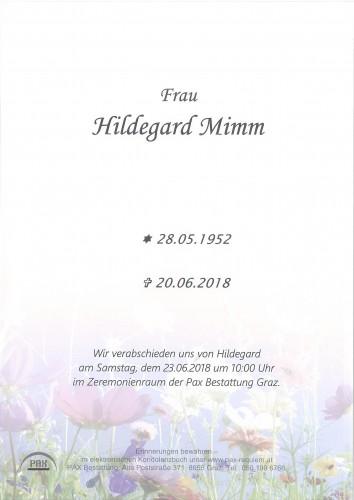 Hildegard Mimm
