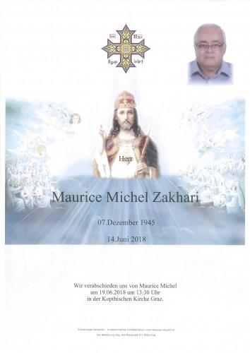 Maurice Michel Zakhari