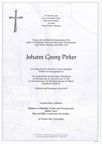 Johann Georg Pirker