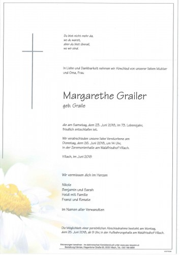 Margarethe Grailer