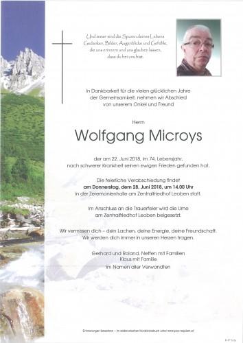 Wolfgang Microys