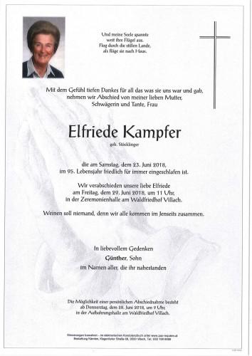 Elfriede Kampfer