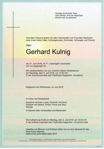 Gerhard Kulnig