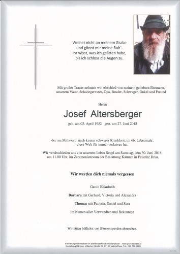 Josef Altersberger