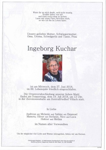 Ingeborg Kuchar