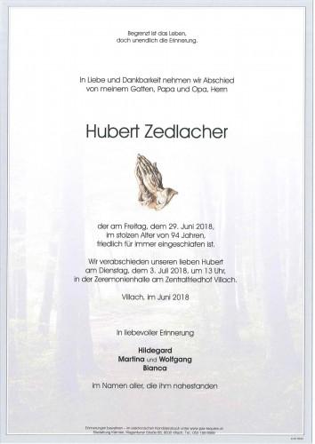 Hubert Zedlacher