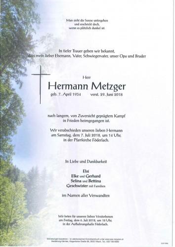 Hermann Metzger