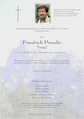 Friedrich Pravdic