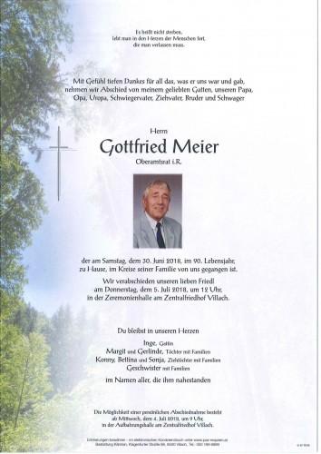Gottfried Meier