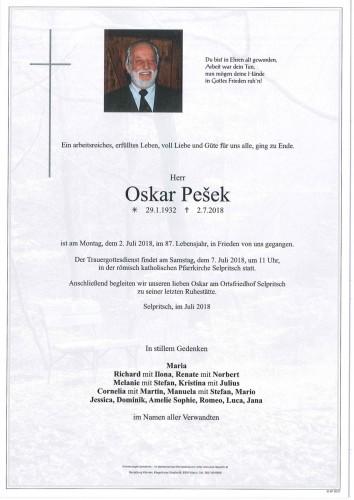 Oskar Pesek