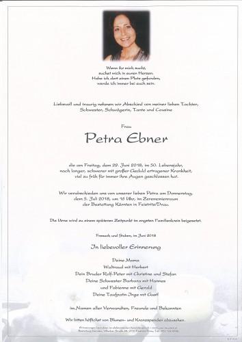 Petra Ebner