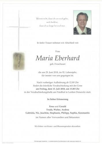 Maria Eberhard