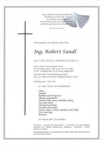 Ing. Robert Sundl