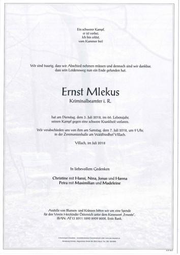 Ernst Mlekus