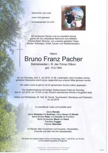 Bruno Franz Pacher