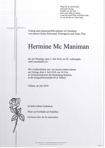 Hermine Mc Maniman