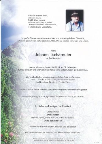 Johann Tscharnuter