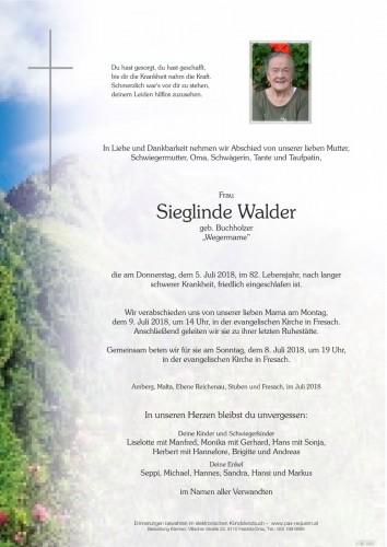 Sieglinde Walder