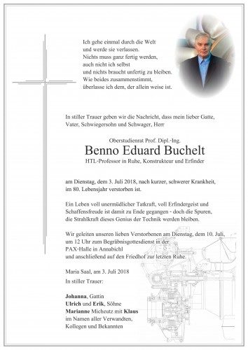 Benno Eduard Buchelt