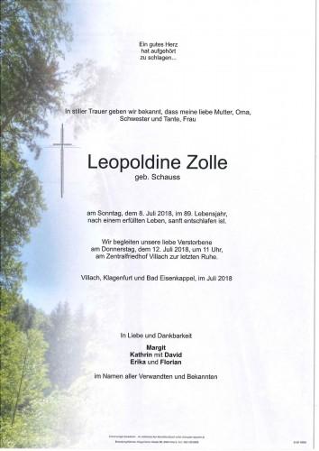 Leopoldine Zolle