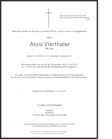 Alois Vierthaler