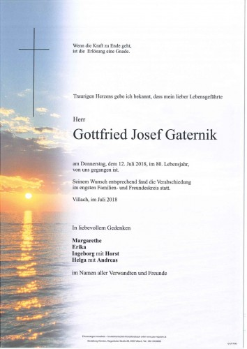 Gottfried Josef Gaternik