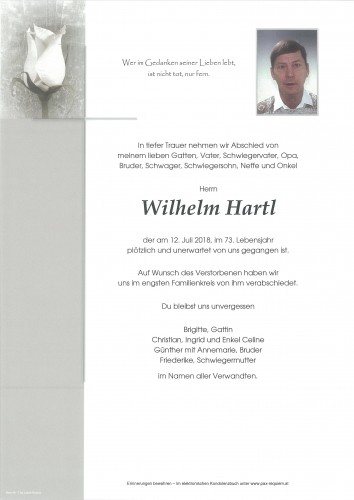 Wilhelm Hartl