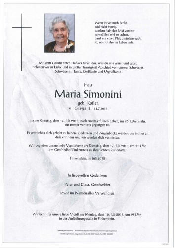 Maria Simonini