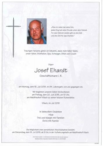 Josef Ehardt