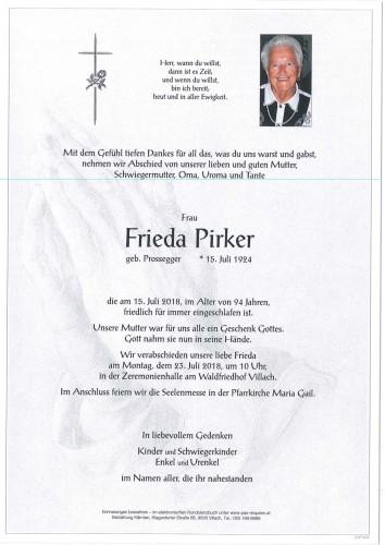 Frieda Pirker